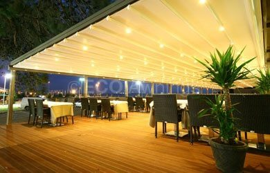 Fabric Retractable Roof