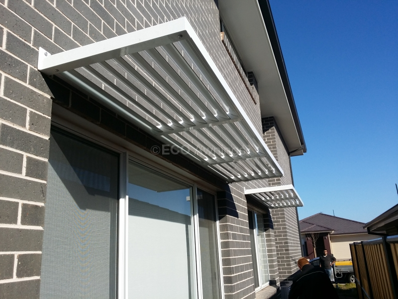 Cantilever Louvres Eco Awnings Sydney