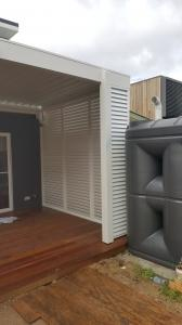 Privacy screen louver  Bronte