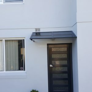 Polycarb window and Door awnings