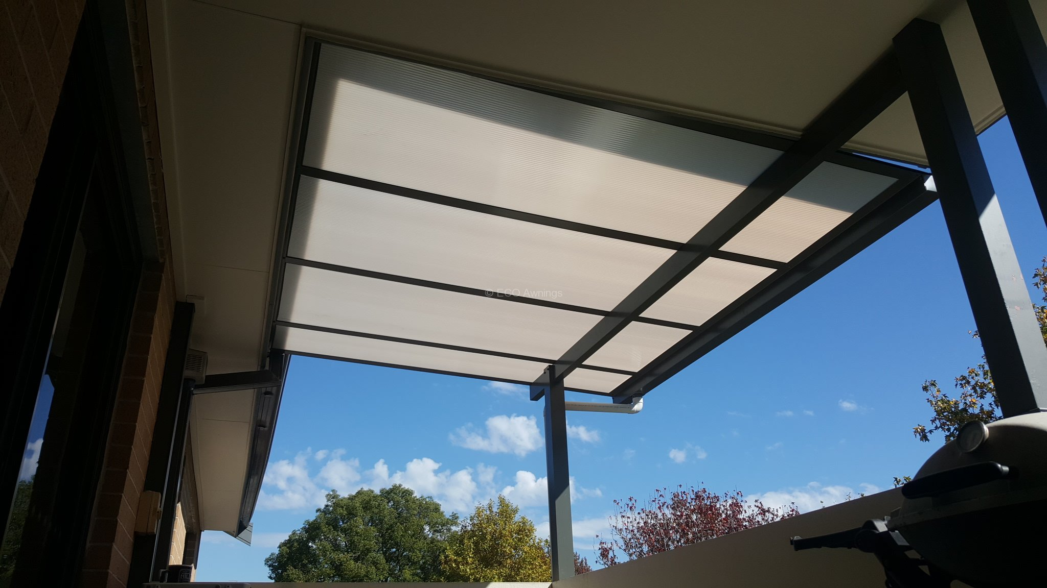 Patio covers 2nd floor units eco awnings for 18th floor balcony cover