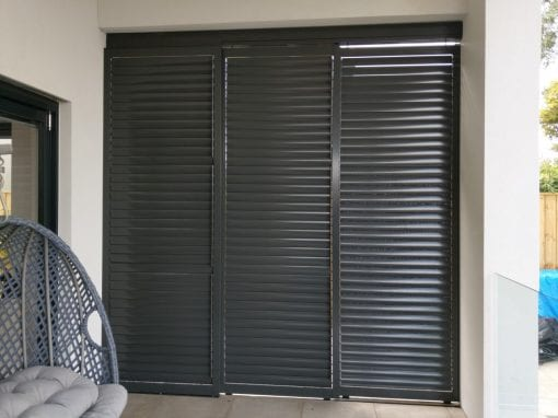 sliding Louver 85mm with adjustable Blades