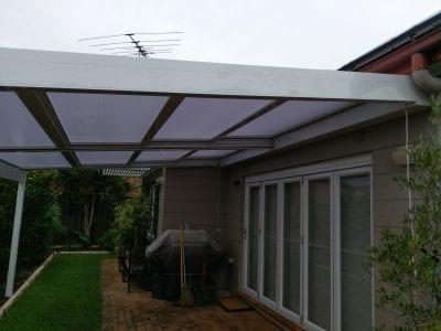 Retracta Roof 2bay 4 Pane