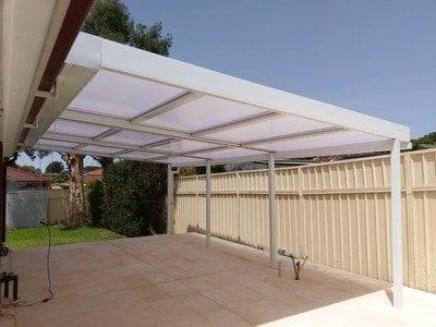 Retracta Roof 3 bay 4 Panel
