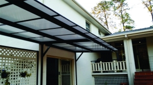 Canter Lever Polycarb awning 3