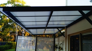 Canter Lever Polycarb awning