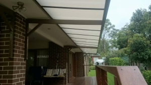 Canter lever polycarb awning_carbolite