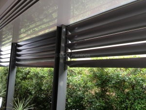 200mm adjustable louvers
