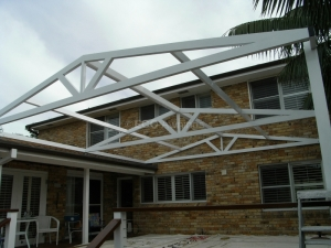Gabled Roof Frame