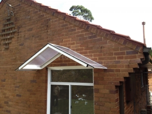 Window Gable Awnings