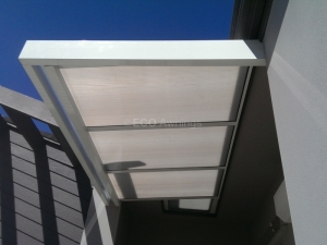 slimline Door entrance awning