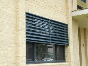 half window louver