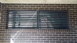 Privacy Screen Louvers