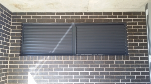 Privacy Screen Louvers - Adjustable