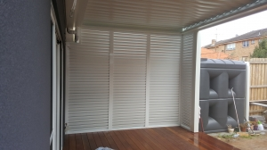 Privacy screen louver  Bronte 1