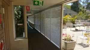 Privacy screen slats