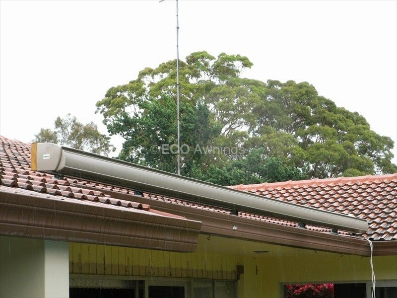 Roof Mounted Awnings - Folding Arm - Eco Awnings