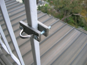 hand rail mounted
