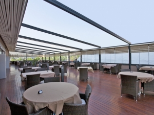 Fabric Retractable Roof System Eco Awnings