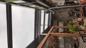 8 Bay 4 Panel Retracta Roof  Open